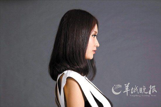 只电一圈半塑造柔美弧度的中发