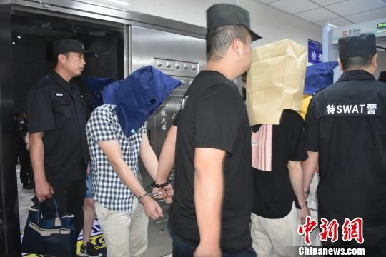 犯罪嫌疑人落网。刘晨洋 摄