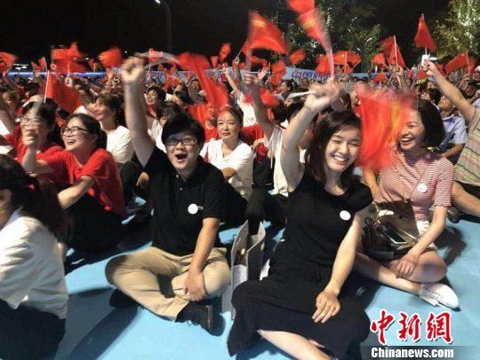活动现场的杭州市民。 萧宣供图