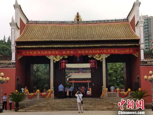 浏阳文庙。 王昊昊 摄