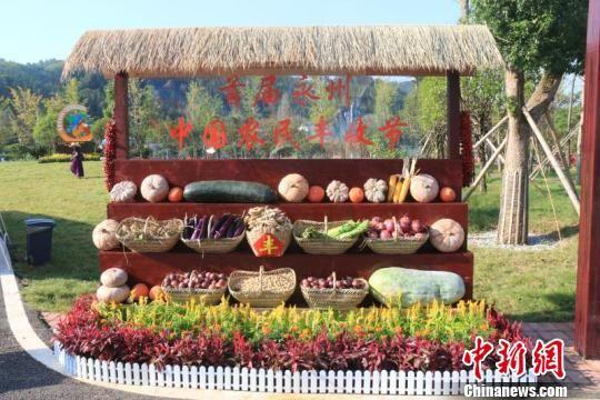 """首届永州""""中国农民丰收节""""举行。 周凌文 摄"""