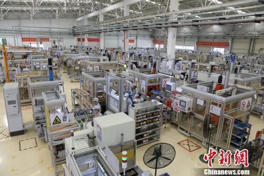 发动机工厂的生产车间。长沙经开区供图