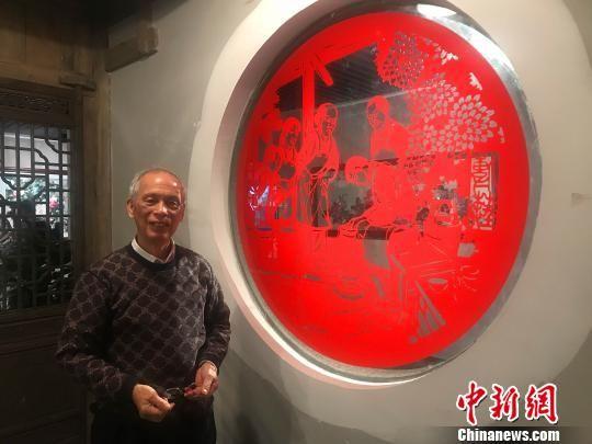 11月7日,长沙市非物质文化遗产展示馆正式开馆。 刘着之 摄