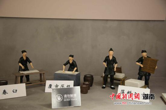 竹文化博览馆收藏近千件竹制展品。 刘琼 摄