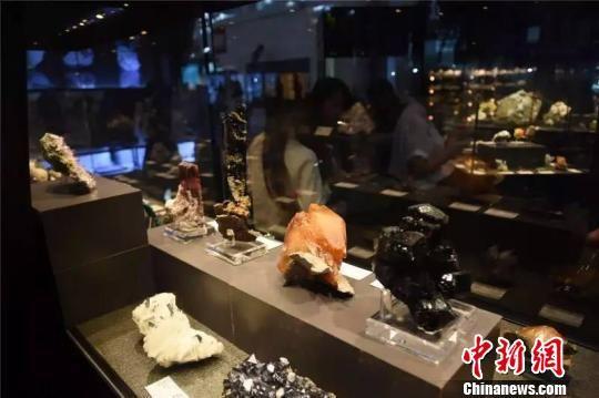 永久落户郴州的中国(湖南)国际矿物宝石博览会。(资料图) 杨华峰 摄