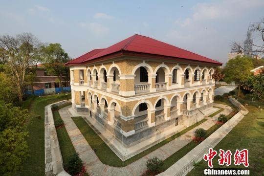 长沙关税务司公馆始建于1906年,为晚清至民国时期长沙关税务司的办公、生活场所。 黄勇华 摄