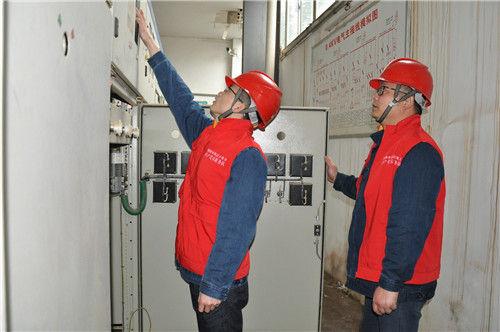 图为:常德西洞庭供电公司 加强高压客户安全用电管理