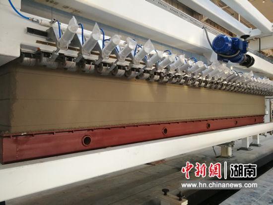 三一筑工公布了ALC(蒸压加气混凝土)消费线。