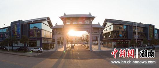 临武县宝玉石财产园。
