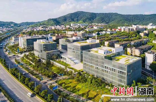 岳麓山国家大学科技城。