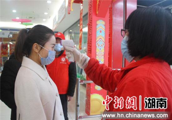 宁乡市新时代文明实践志愿者广泛参与疫情防控工作。