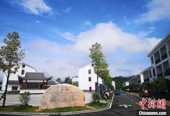 湖南省宁乡市巷子口镇同心村庄。 刘曼 摄