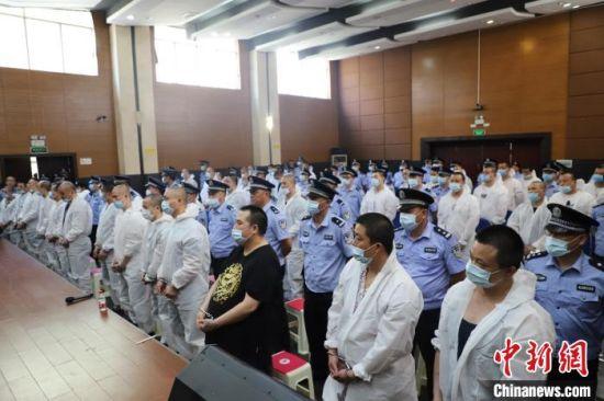 宣判现场。湖南省高院供图