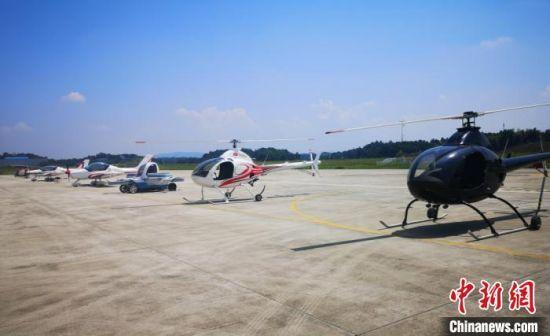株洲近年来大力发展中小型航空特色产业。 刘曼 摄