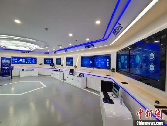 位于长沙高新区的信创产业协同适配中心。 向一鹏 摄