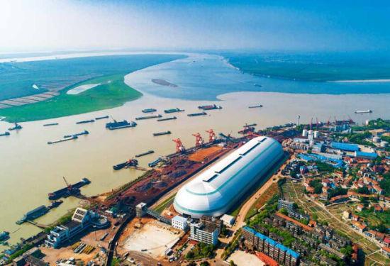 (城陵矶是湖南省唯一的国家一类水运对外口岸。徐典波 摄)