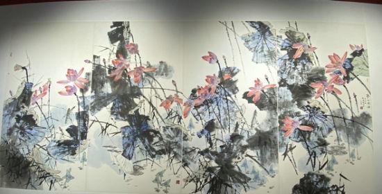 刘鸿洲2011年作品《梦入南浦》。王昊昊 摄