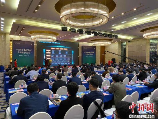 4月12日,中国电信数字乡村全国推进会在长沙举行。 王昊昊 摄