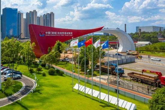 中国(湖南)自由贸易试验区。尹国富 摄