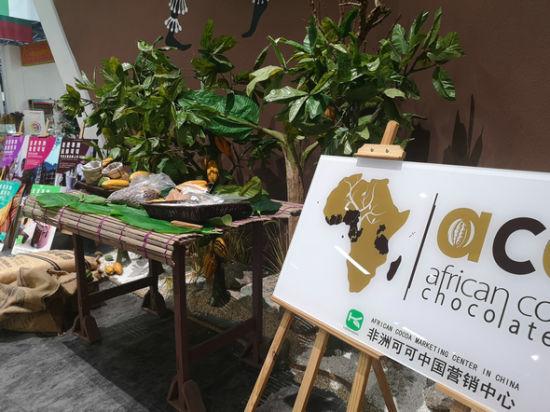 非洲可可中国营销中心设在湖南自贸试验区。 刘曼 摄