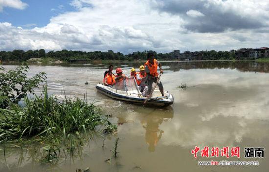 抗洪保电 国网永州供电公司在行动