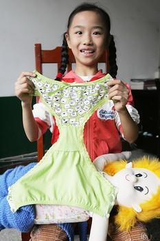 一块布换回发明内裤八龄女生v内裤出便捷女童银奖靴子舔给视频图片