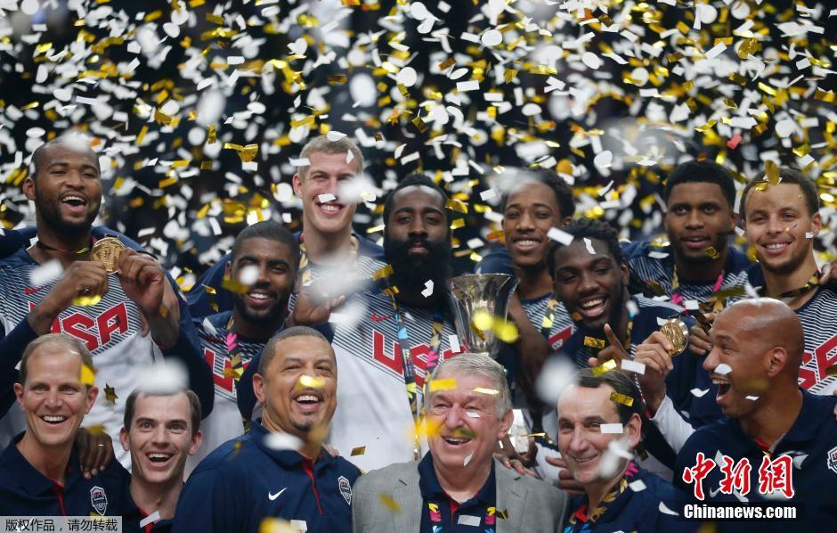 美国队狂屠对手 稳夺篮球世界杯冠军--湖南新闻