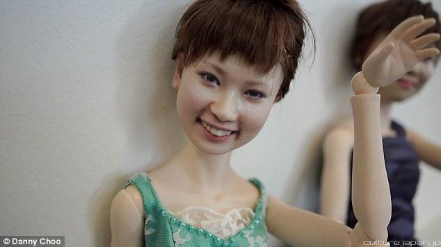 日本3D打印件套真人新娘似娃娃--湖南形象图情趣内衣三新闻图片