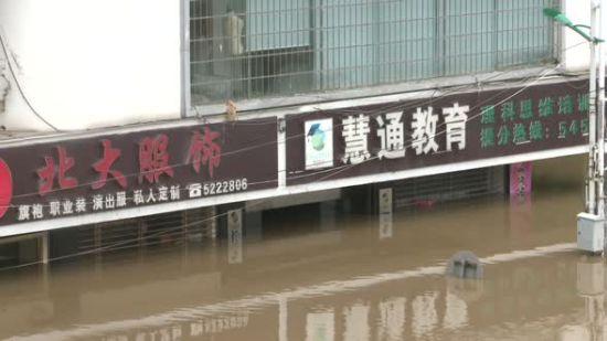 邵阳洪峰当时清淤忙
