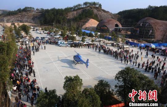 低空旅游国内受捧 最新白菜网送彩金首个景区直升机旅游专线开通
