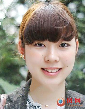 街拍日本裸妆美女 甜橙派妆容健康裸肌(6)