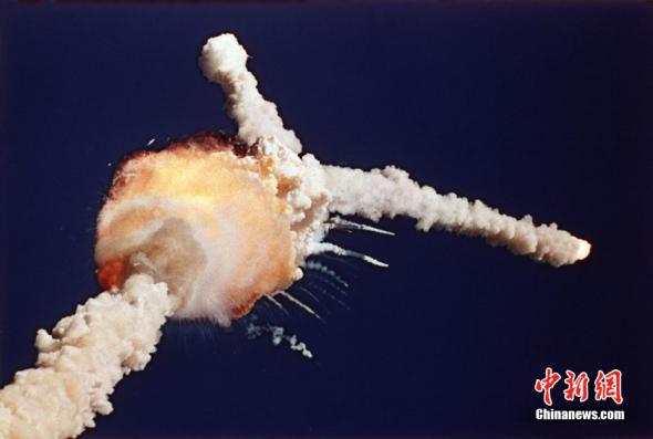 太空人的足迹——挑战者号航天飞机爆炸