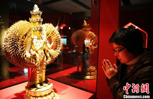 西藏宗教文物澳门永利官网线上娱乐展出