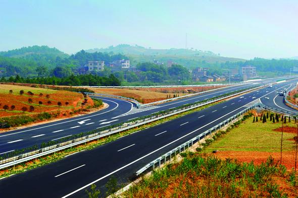 湖南宁道高速公路建设巡礼