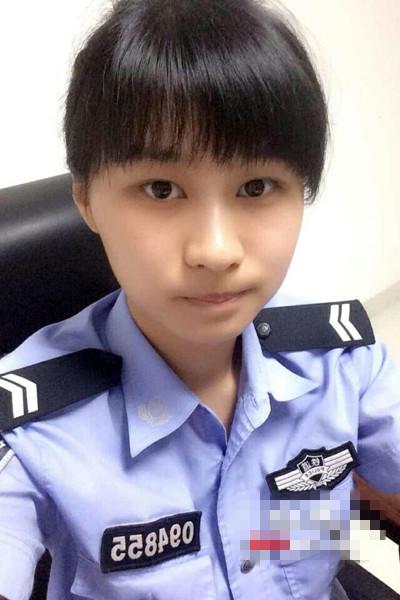 湘潭美女警花画漫画宣传法制与安全 网友赞好萌