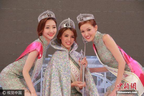 2017香港小姐三甲出炉 23岁雷庄儿斩获双料冠军