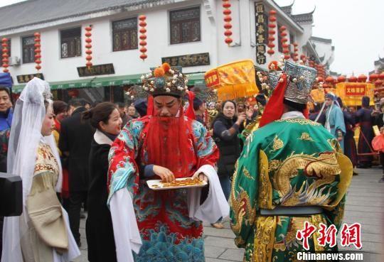 """别样年味 湖南南岳衡山景区为游客推出""""非遗""""大餐"""