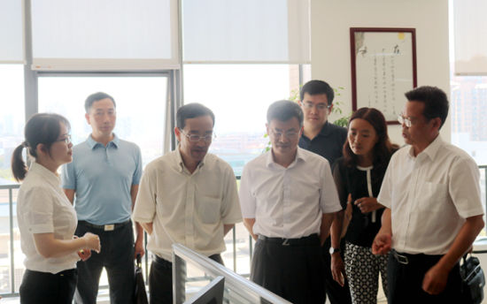 国家知识产权局副局长廖涛调研中国(长沙)知识产权保护中心