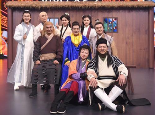 《王牌对王牌4》致敬金庸 《天龙八部》剧组22年后最全重聚