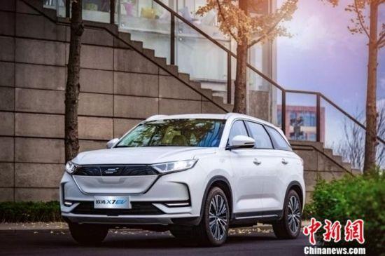 �L安�W尚X7 EV亮相�l布 �m航里(li)程(cheng)�_(da)405公里(li)