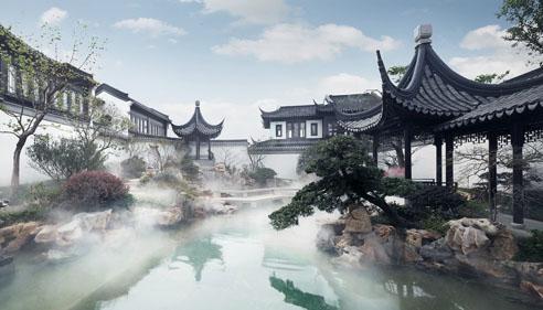 澳门永利娱乐场官网富豪被指热衷中式豪宅:用古代美学彰显身份