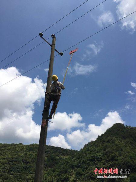 泸溪县供电公司:开展鱼塘安全警示牌专项整治