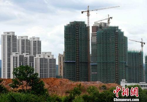 8月中国房地产市场投资增速持平 销售小幅放缓