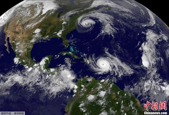 """""""玛利亚""""袭击波多黎各 美联邦政府将援助救灾"""