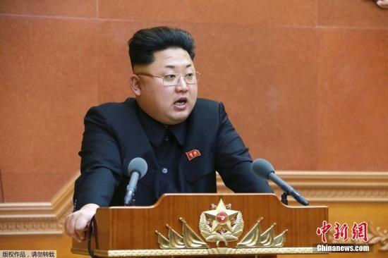 """金正恩就特朗普""""彻底摧毁朝鲜""""言论发表声明"""