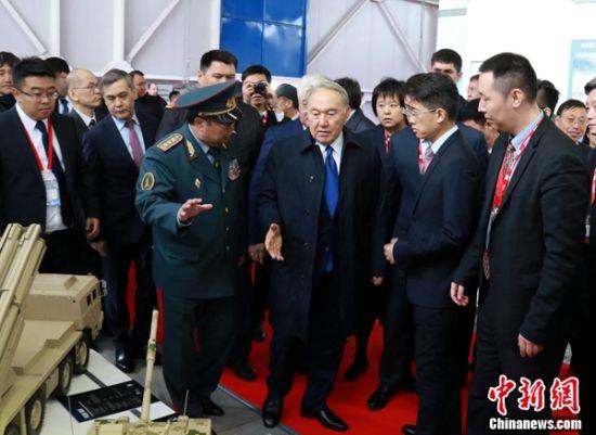 澳门永利娱乐场官网优势军贸装备亮相哈萨克斯坦防务展