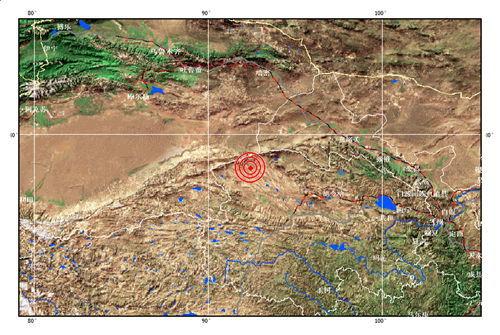 青海省海西蒙古族藏族自治州发生5.1级地震