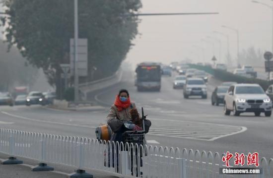 北京迎本轮空气重污染峰值 预计明天白天减轻