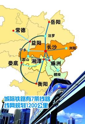 """""""3+5""""城市群城际铁路规划图."""