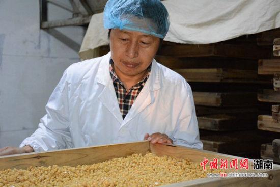 长沙腊八豆传承人陈江柱欲建传习馆展示发酵食品